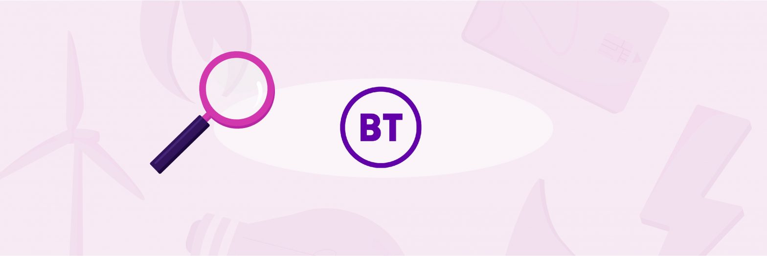BT broadband and TV cover